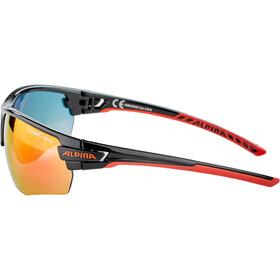 Alpina Tri-Scray 2.0 HR Gafas, black-red/red mirror